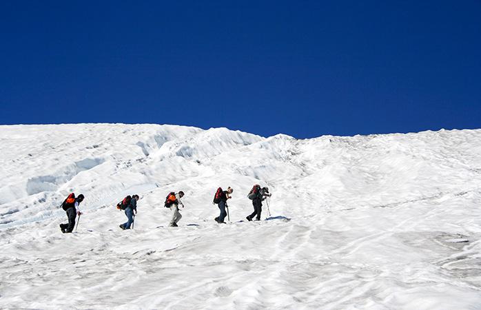Trektocht rond de Villarrica vulkaan van Pucón in Chili, één van de beste plaatsen om te bezoeken in Zuid-Amerika