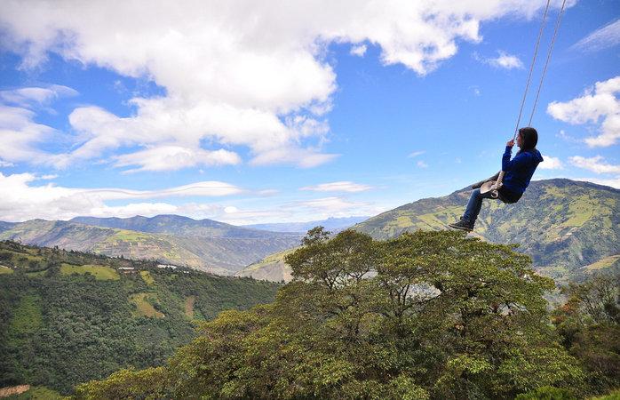 Geweldige bestemmingen in Zuid-Amerika - Baños, Ecuador