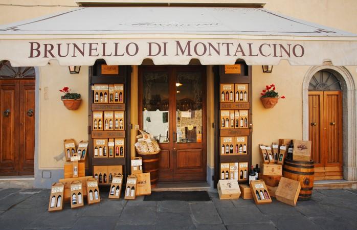 Montalcino heeft een van de beste Italiaanse wijnen: Brunello di Montalcino