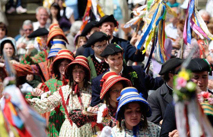 Doe mee met het historische festival Meistertrunk, een befaamd evenement van Rothenburg