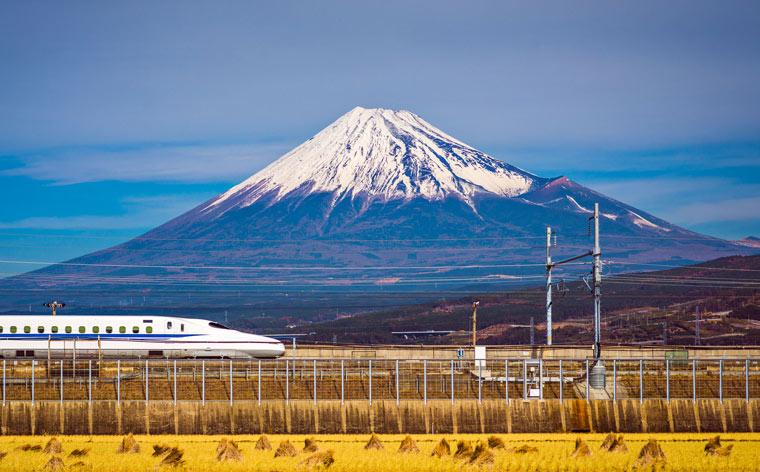 Japan per trein: een 10-daags reisschema met de hogesnelheidstrein
