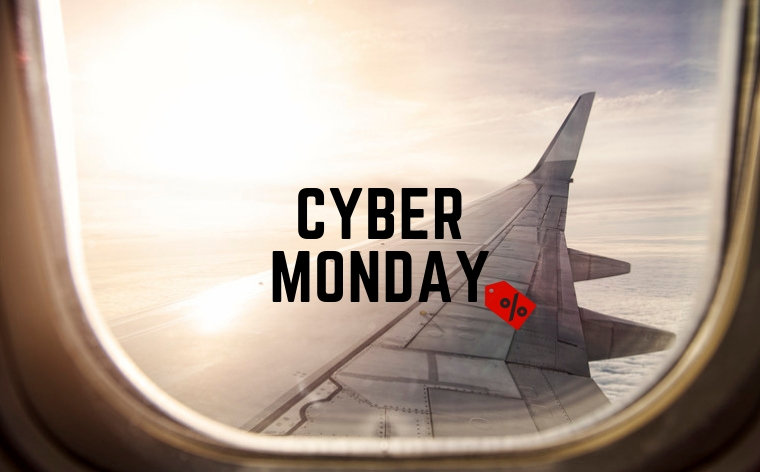 CYBER MONDAY Nederland 2018 ⇒ Vliegtickets en reisaanbiedingen