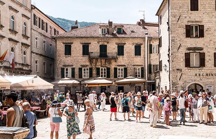 Het middeleeuwse meesterwerk Kotor in Montenegro staat op de UNESCO-lijst