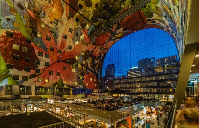 Stedentrip Rotterdam – Markthallen