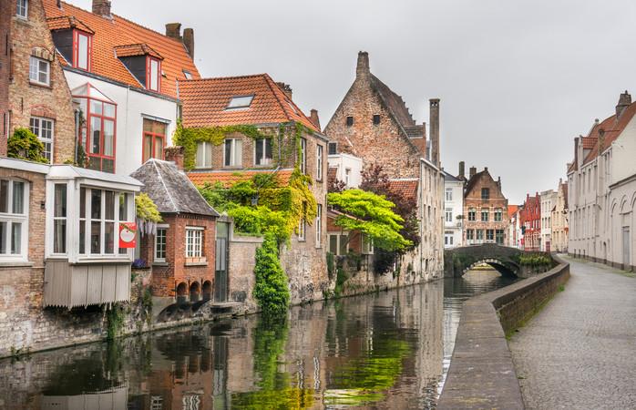 Brugge wordt ook wel het 'Venetië van het noorden' genoemd.