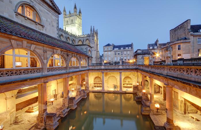 Bath, misschien wel de meest verrassendere en sfeervollere bestemming in het Verenigd Koninkrijk.