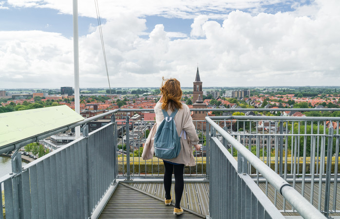 Leeuwarden werd vorig jaar uitgeroepen tot culturele hoofdstad van Europa.
