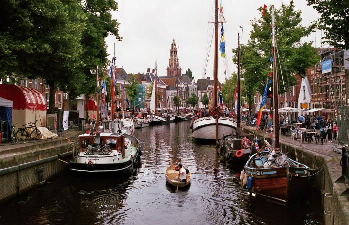 Stedentrip Groningen - Zomerwelvaart