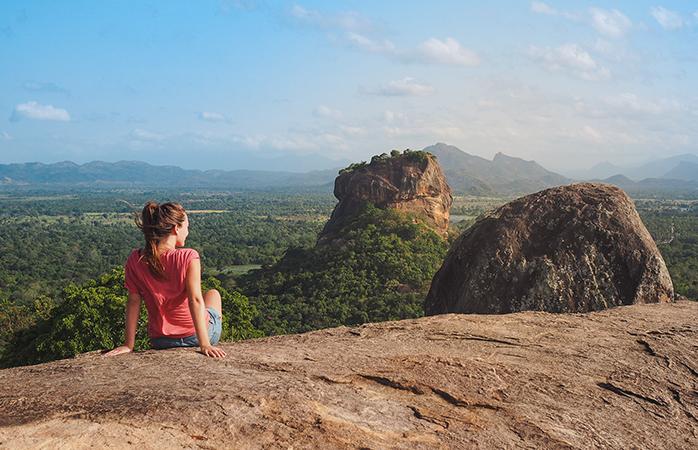 Roëll in Sri Lanka - één van haar favoriete bestemmingen.