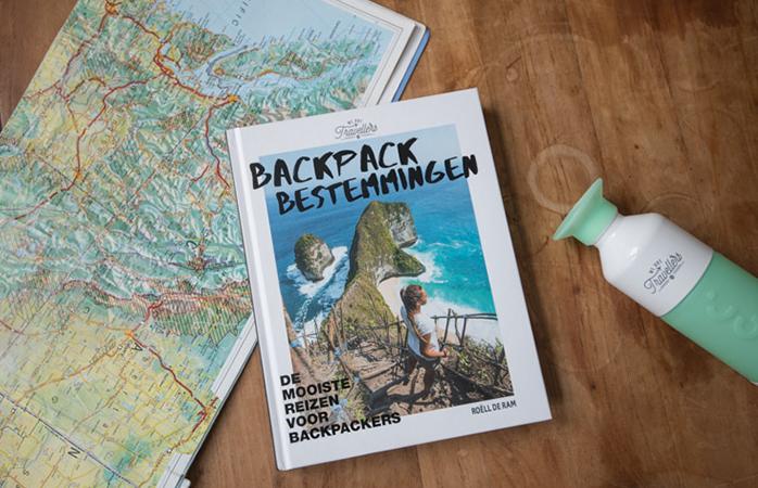 Backpack Bestemmingen - Het eerste boek geschreven door Roëll.