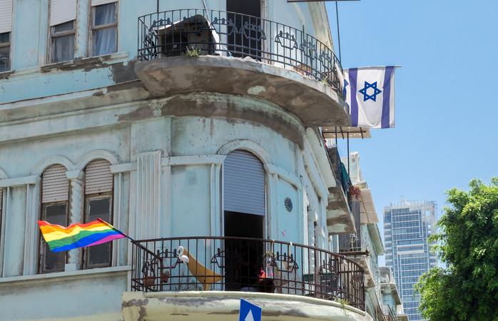 Gay pride wordt elk jaar populairder in Tel Aviv, Israel